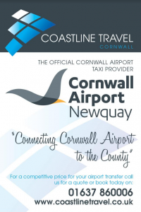 cornwall airport official taxi provider