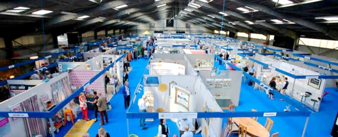 Interior of Home and Lifestyle Show