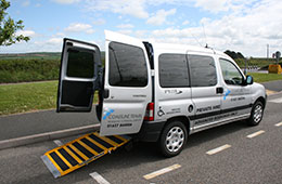 wheelchair access taxi